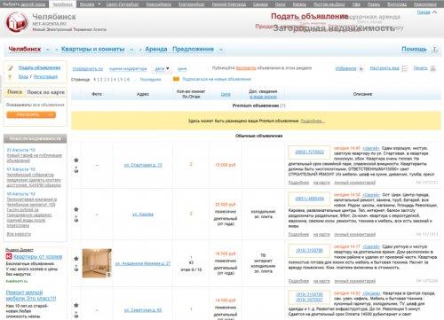 Сервис недвижимости «Net-agenta.ru» начал работу в Челябинске