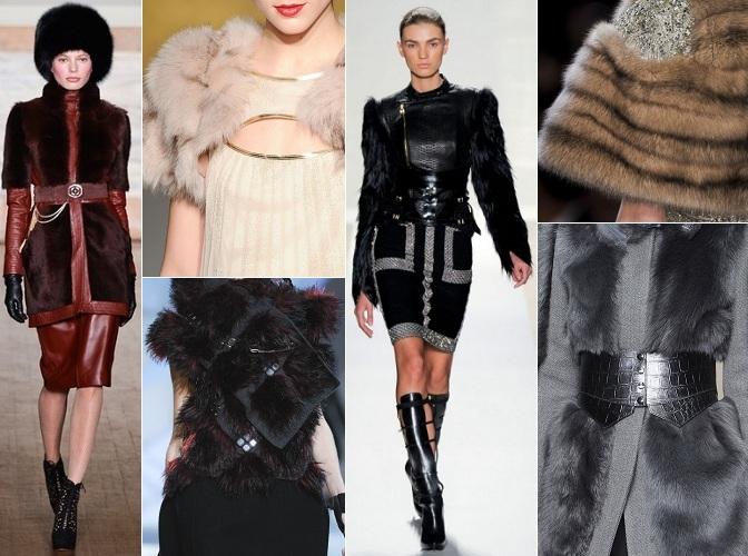 Женская Одежда Зима Мех