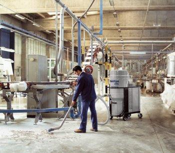 Промышленные пылесосы – разновидности