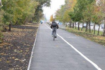 Первая челябинская велодорожка уже почти готова
