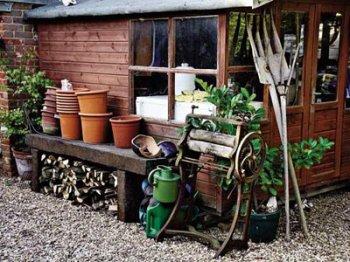 Размещение  хозяйственных построек на садовом участке
