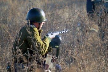 Челябинцы воссоздали подвиг советских солдат под Кривым Рогом