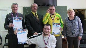 Весьма увлекательно прошел чемпионат Челябинской области среди инвалидов по быстрым шашкам