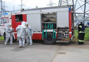 В Челябинске прошли совместные учения энергетиков и МЧС