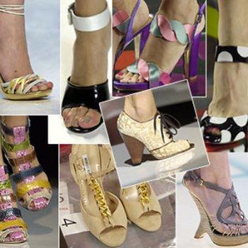 Тенденции современной моды в цветах и узорах, подбор одежды под такую обувь