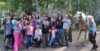 ЦЗПЖ «ВИТА-Челябинск» и воспитанники детского дома №2 отпраздновали День лошади