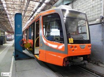 Челябинск планирует закупать современный трамвай