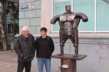 Новая скульптура «Венера» в центре Челябинска смутила горожан