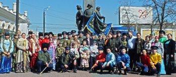 В Челябинске прошел казачий праздник «Осенины»