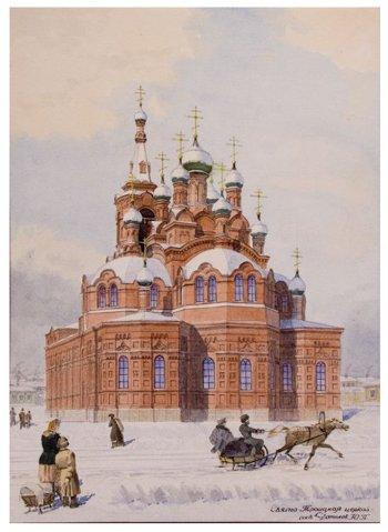 В краеведческом музее пройдет выставка «100-летие Свято-Троицкого храма»