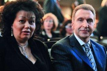 Супруга Игоря Шувалова