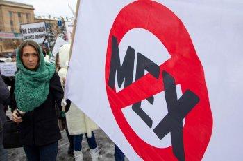 Животные – не одежда! Убежденные в этом жители Челябинска вышли на традиционный антимеховой марш