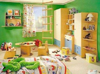 Обустраиваем детскую комнату вместе с ребенком