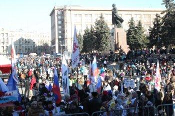 Челябинцы отметили воссоединение Крыма с Россией