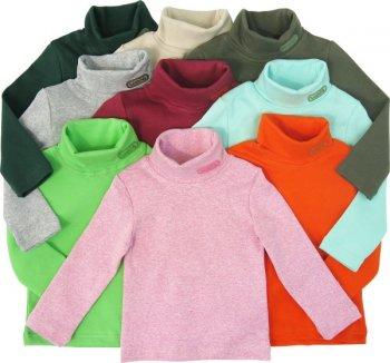 Детская одежда. Водолазка - отличный выбор для вашего ребенка