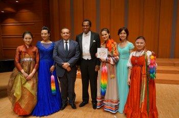 Юные вокалистки из Челябинской области выступили в Токио