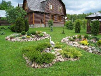 Оформление загородного дома