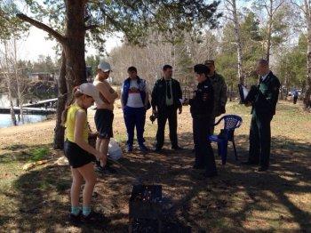 В первые дни мая в лесах Челябинской области было пресечено более 500 нарушений