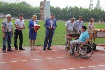 В Челябинске наградили спортсменов-инвалидов