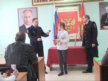 В Управлении ГИБДД Челябинской области торжественно вручают водительские удостоверения