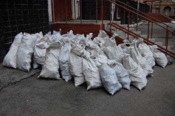 Уборка мусора со строительных объектов и обустройство дорого в Москве
