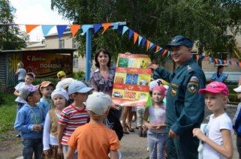 В Челябинской области проходит месячник пожарной безопасности