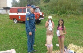 Спасатели Челябинской области напоминают правила поведения на водоёмах