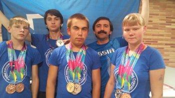 Спортсмены из Челябинской области завоевали 18 медалей на Специальной Олимпиаде