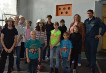 Воспитанники детского дома в Челябинской области научились бороться с огнём