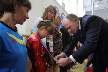 Губернатор Челябинской области посетил обучение призёров Специальной Олимпиады
