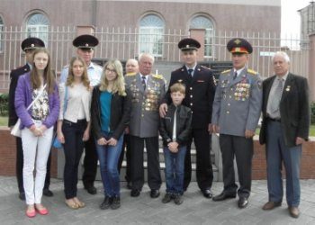 В Челябинской области прошла встреча с детьми сотрудников ОВД, погибших при исполнении служебного долга