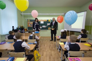 Глава Законодательного Собрания Челябинской области посетил школу № 29 в Озёрске