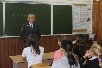 В Челябинской области стражи порядка проводят для несовершеннолетних юридическое обучение