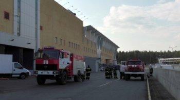 В крупном ТРК Челябинска прошла учебная пожарная тервога