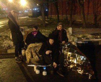 Полиция арестовала участников голодовки в поддержку зоозащитницы Виктории Павленко