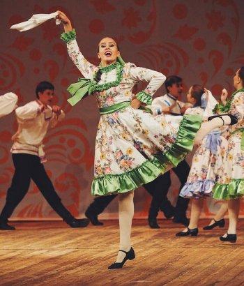 Дети из Челябинска стали лауреатами Первого Чемпионата России по народным танцам