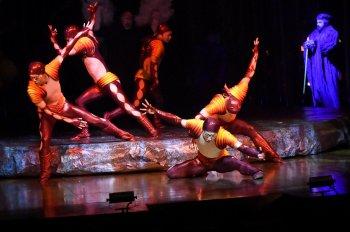 Исполнители и сотрудники шоу Varekai ответили на вопросы российских поклонников (Цирк Дю Солей (Cirque du Soleil ) в Челябинске – через 2 месяца!)