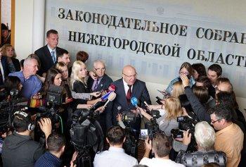 Скандал в нижегородском заксобрании может привести к его полному роспуску