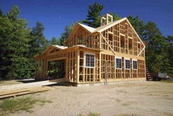 Начальные шаги строительства каркасного дома