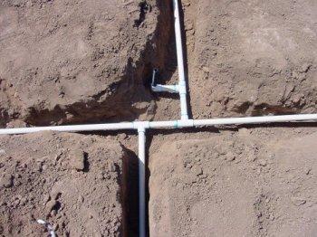 Как прокладывают водопровод
