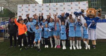 Юный футболист из Челябинска принял участие в чемпионате по футболу для детей «Мы все можем сами» в Москве