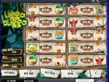 Онлайн казино. Игровой автомат Ugga Bugga