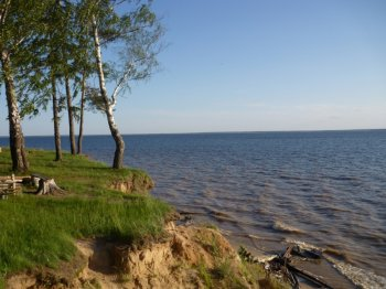 Отдых на Волге. Горьковское водохранилище